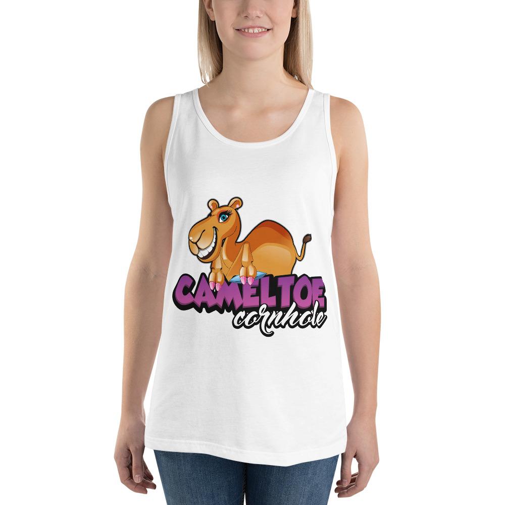 Camel Toe Cornhole Unisex Tank Top